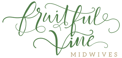 Fruitful Vine Midwives Logo